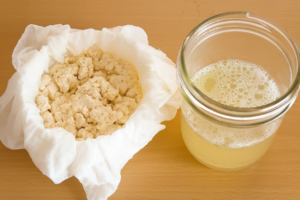 豆乳チーズの作り方