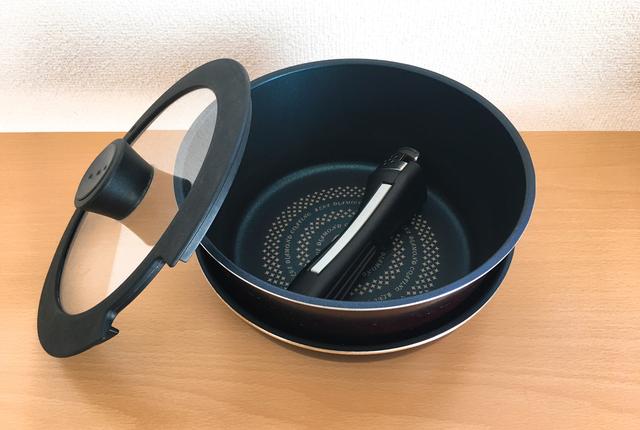取っ手のとれる調理器具