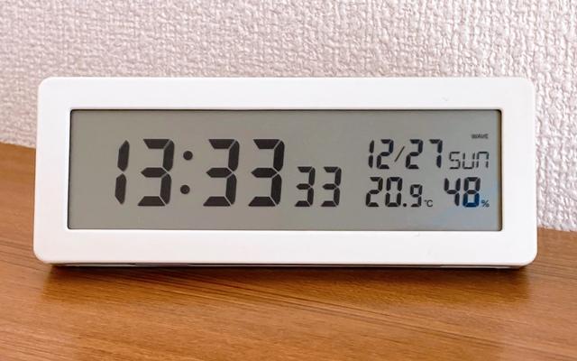 無印良品 デジタル時計