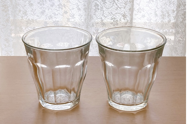 グラスの水垢(アフター)