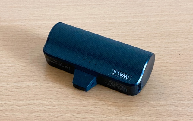 超小型モバイルバッテリー